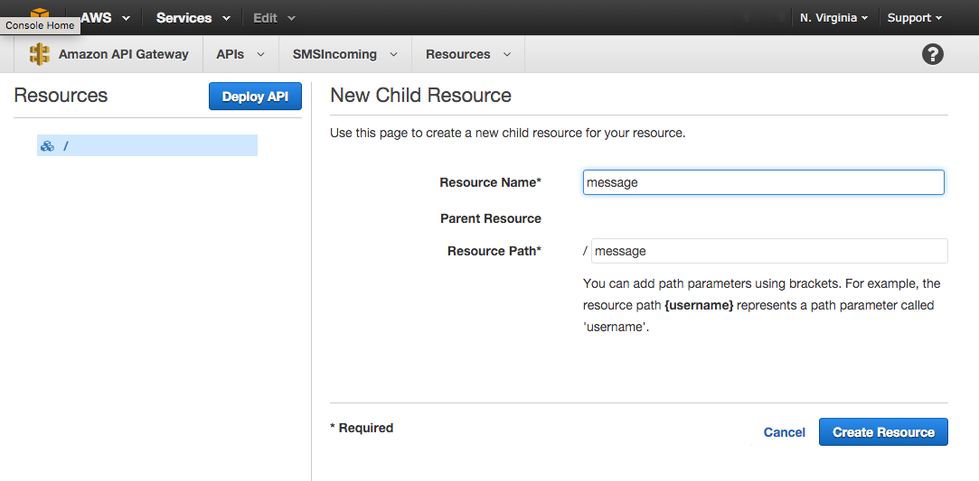 making a resource