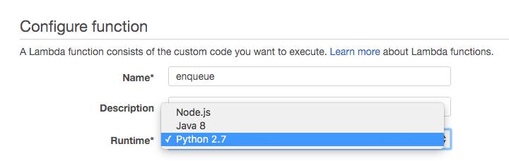 AWS Lambda supported languages