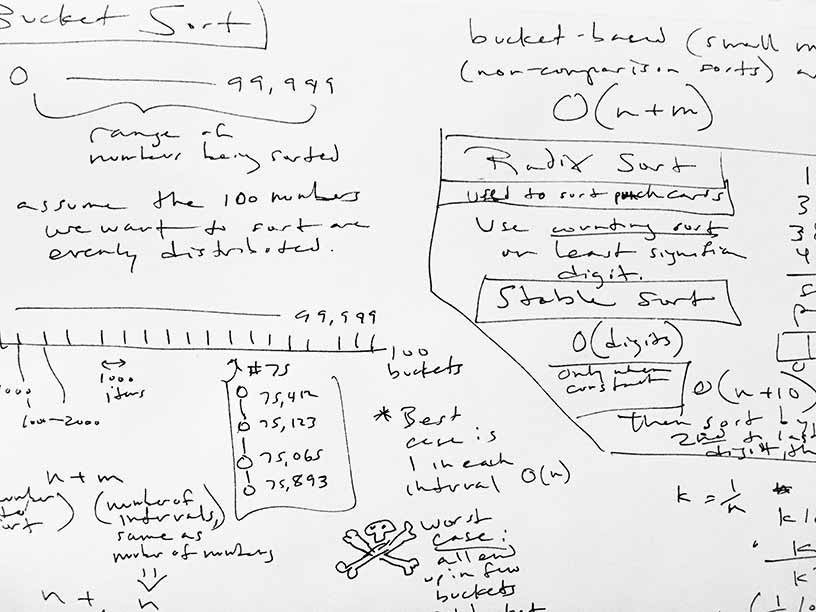My notes on sorting algorithms