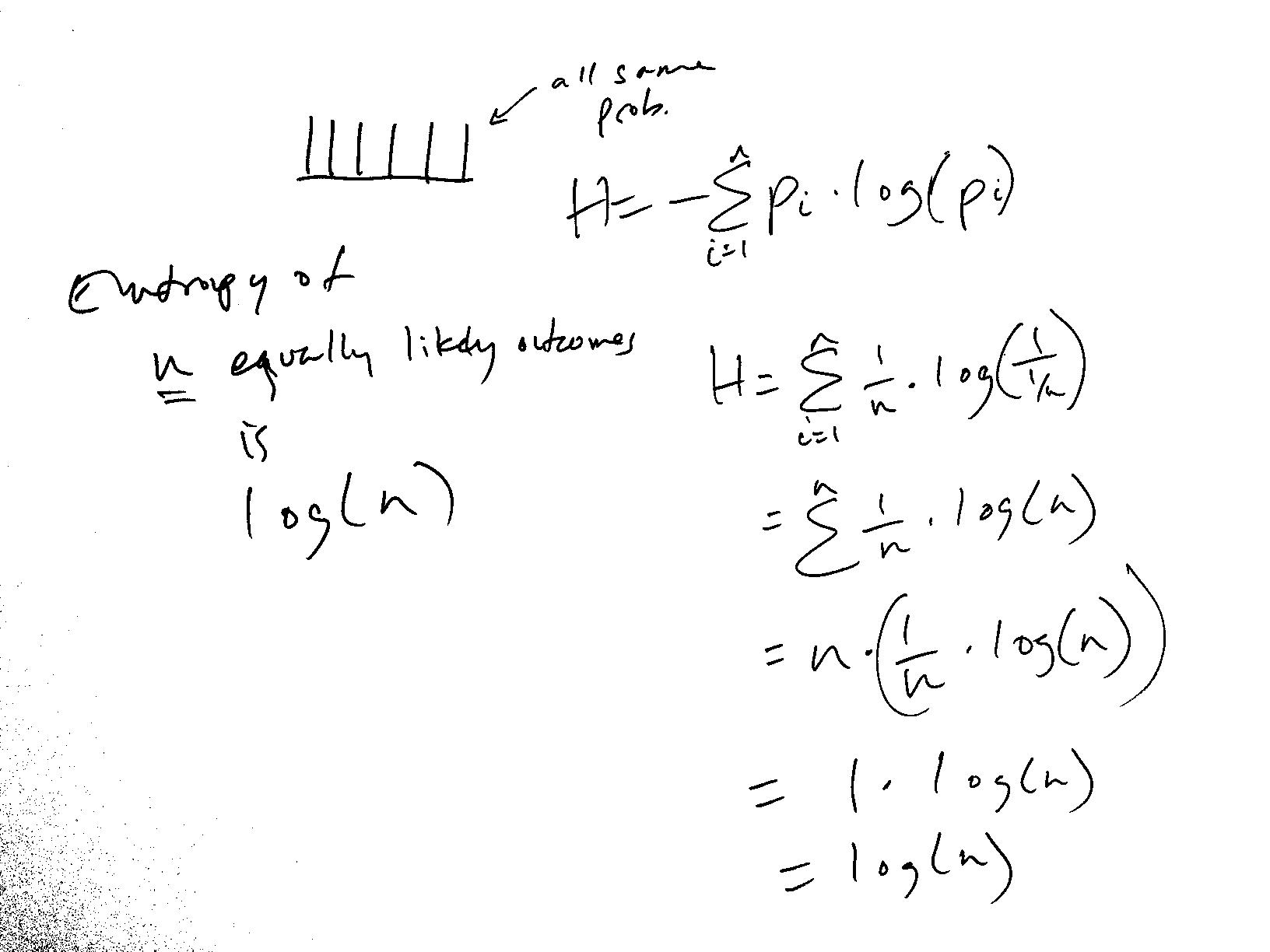 Entropy whiteboard