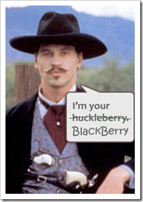 I'm Your BlackBerry