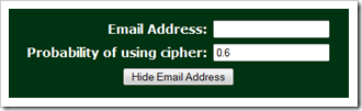 David Grayson's Email Hider